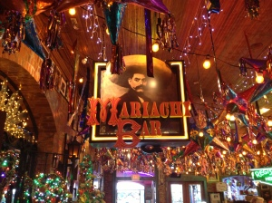 By day's end, I longed to be back in the Mariachi Bar.