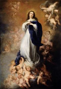 Immaculate Mother of God, pray for me!Public Domain Image