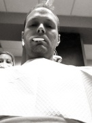 #dentistselfie  The impression mold of my teeth tasted gross.