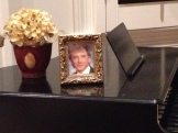 Not nominated this year, but a framed Manilow is always in style!
