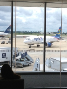 Catch the Spirit...  of Spirit Airlines.