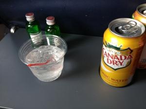 My in-flight meal.