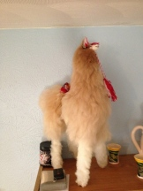 Look... It's a llama!
