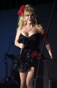 And really, did you think you could do without random pictures of Charo thrown into my blog?  No, didn't think so.
