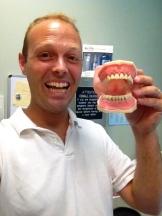 Having fun with teeth!