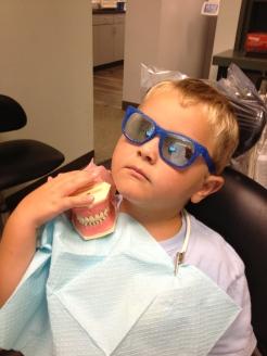 Having MORE fun with teeth.