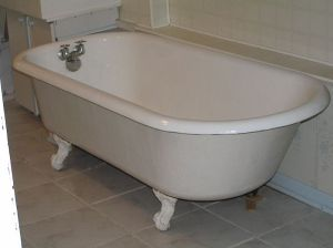Not our tub.  This one doesn't have any mildew.