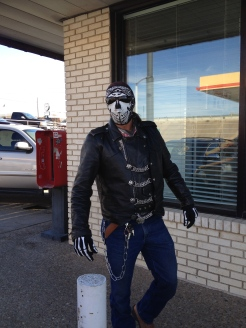 Oh the friends we make in the Lone Star State! Met this biker in West at the Czech Stop.
