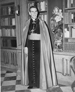 The man himself, +Archbishop Fulton J. Sheen
