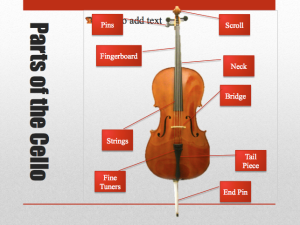 These are the parts of the cello.  Hot damn.