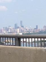 Skyline of Philadelphia from the Walt Whitman Bridge